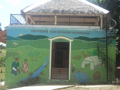 Villa andrés-mural