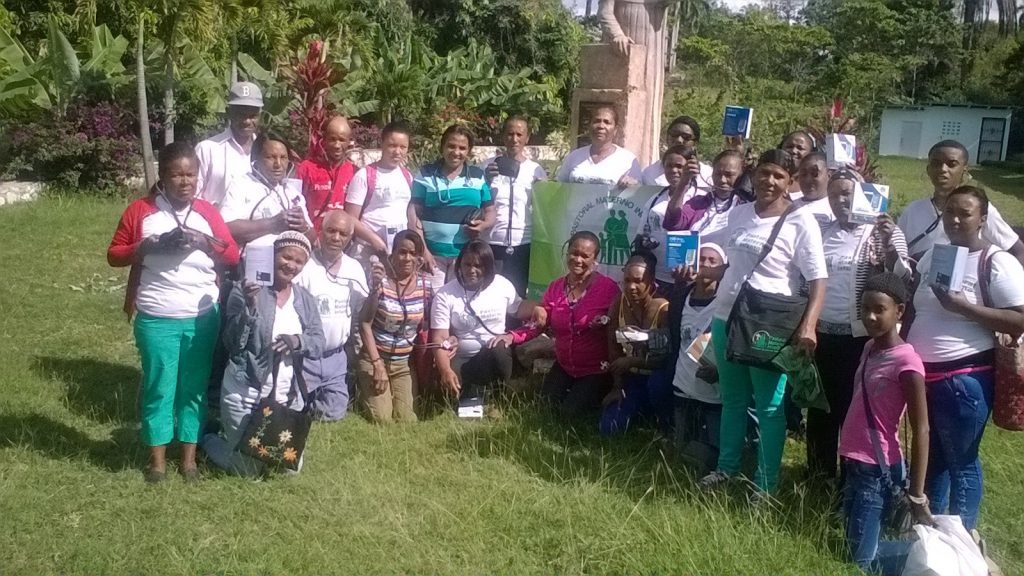 Health Promoters graduating after a 16 week heath prevention course sponsored by the Social Ministry Committee.